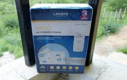 Linksys N600 Pro - Wi-Fi Range Extender (RE4100W) - Review