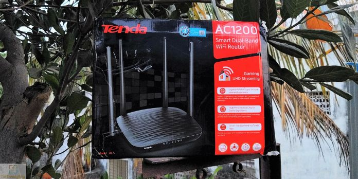 Tenda AC5 Smart WiFi Router