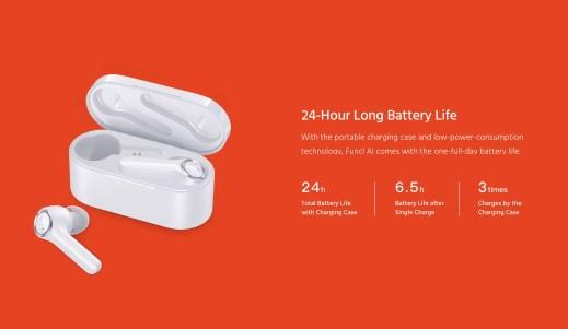 Funcl AI Battery Life