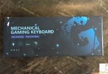 GT Racing Mechanical Keyboard box