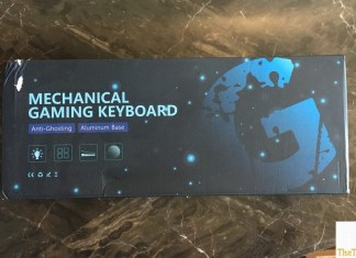 GT Racing Mechanical Keyboard box