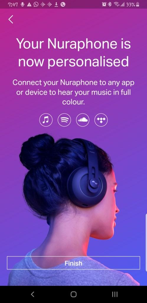 Nuraphone Personalisation