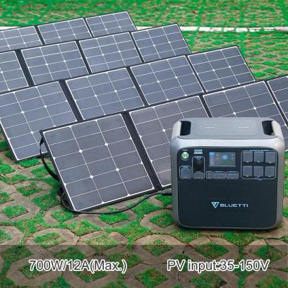 Bluetti AC200P Solar Power