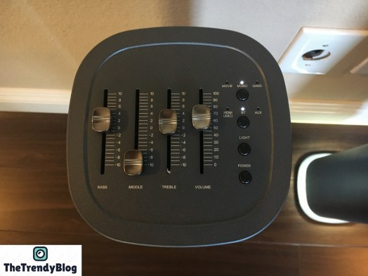 Abramtek E500 Speaker Controls