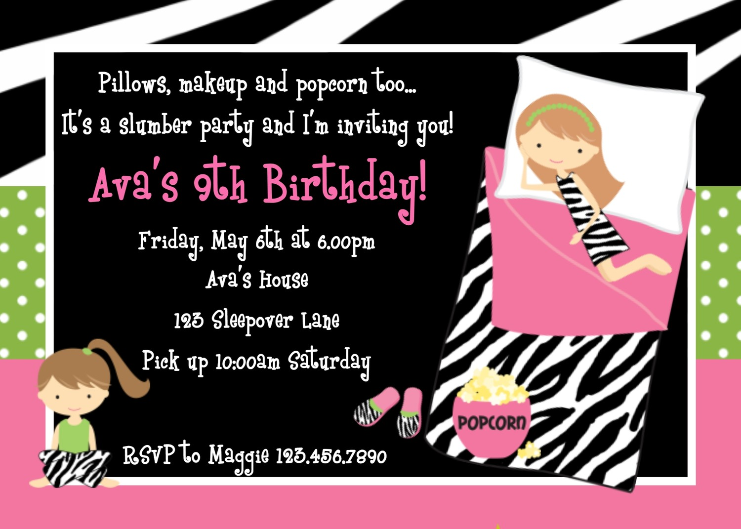 Happy 13th Birthday Invitations