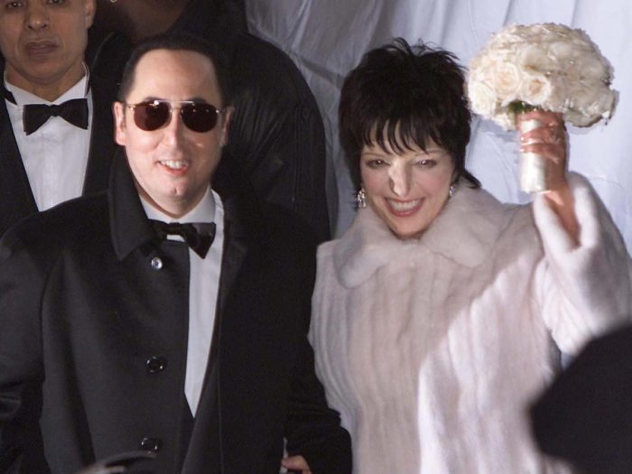 Liza Minnelli and David Gest Wedding The Trent
