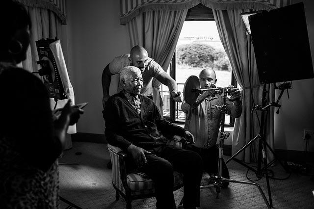 Nelson MAndela's Last Photo Shoot The Trent