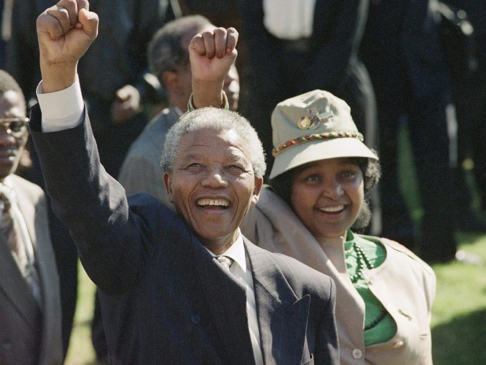 Nelson and Winnie Mandela The Trent 2