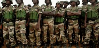 Dapchi schoolgirls abduction, military, withdrawal, Troops