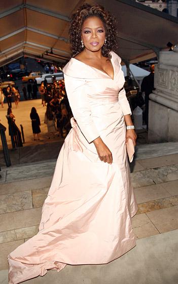 June 2007: Orpah at New York's CFDA Fashion Awards (Photo Credit: Evan Agostini/Getty)