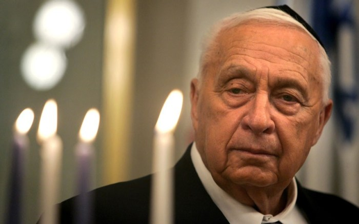 Ariel Sharon, who was prime minister of Israel from 2001 until a stroke in 2006, has died. He was 85. (Picture: AP)