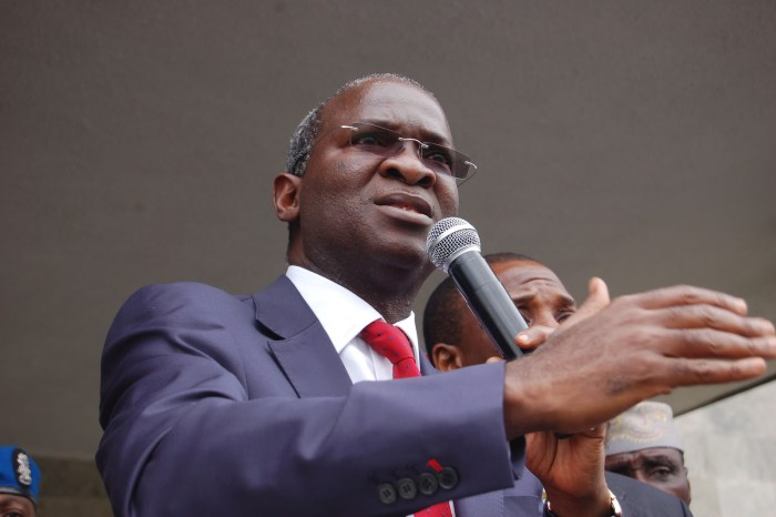 Lagos State Governor Babatunde Fashola (File Photo)