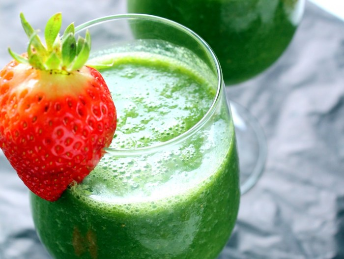 Green Smoothies The Trent