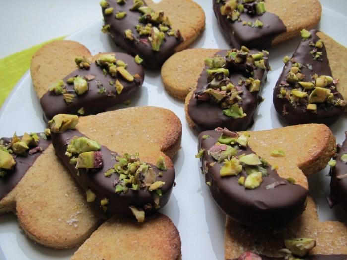 Lemon Pistachio Agave Cookies The Trent