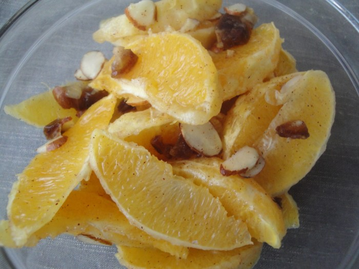 Moraccan Spiced Oranges The Trent