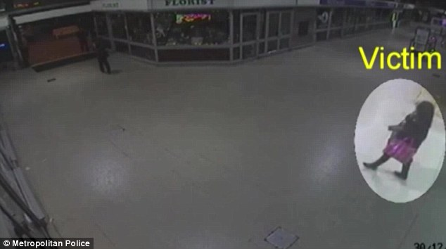 Instead she claimed that Miss Oni had hatched an elaborate plan to throw acid in her own face so that she could become as famous as Miss Piper. CCTV footage obtained by police after the attack showed a figure in a niqab following her as she left work at the Westfield shopping centre in Stratford at around 11.30pm (Photo Credit: Daily Mail UK)
