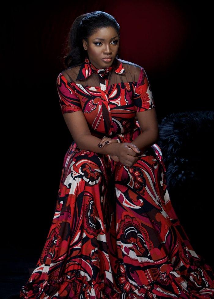 Nigerian film actress Omotola Jalade-Ekeinde (Photo Credit: TK. Provided by Koshie Mills / K3 Public Relations)