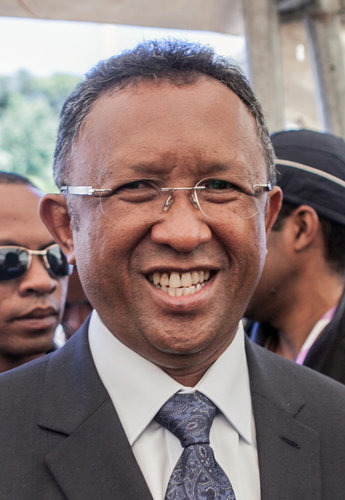 Hery Rajaonarimampianina, President Elect of Madagascar (Photo Credit: Getty Images/New York Times)