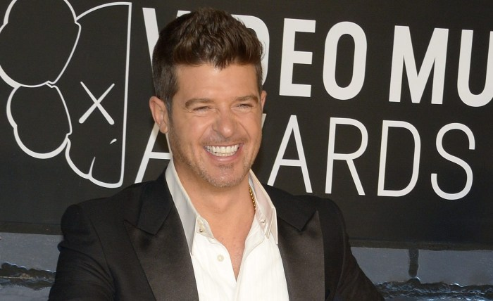 Robin Thicke The Trent