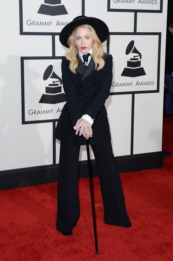 Madonna in Ralph Lauren