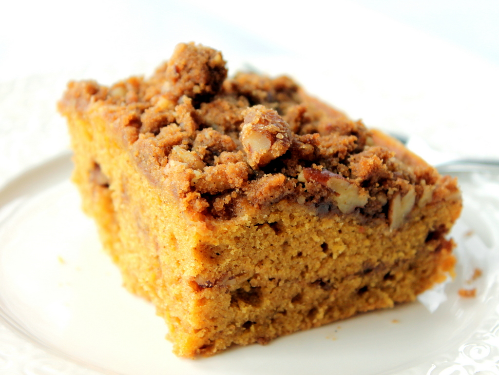 Apple Studded Brown Butter Streusel Coffee Cake