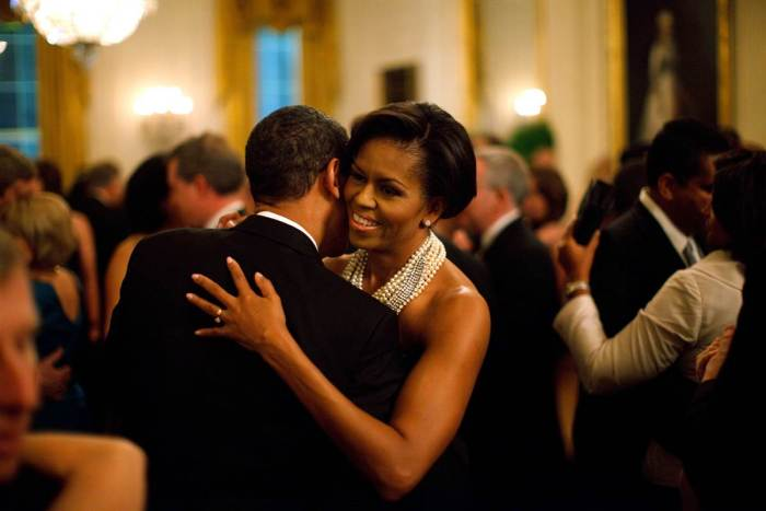 Michelle obama Barack Dance The Trent