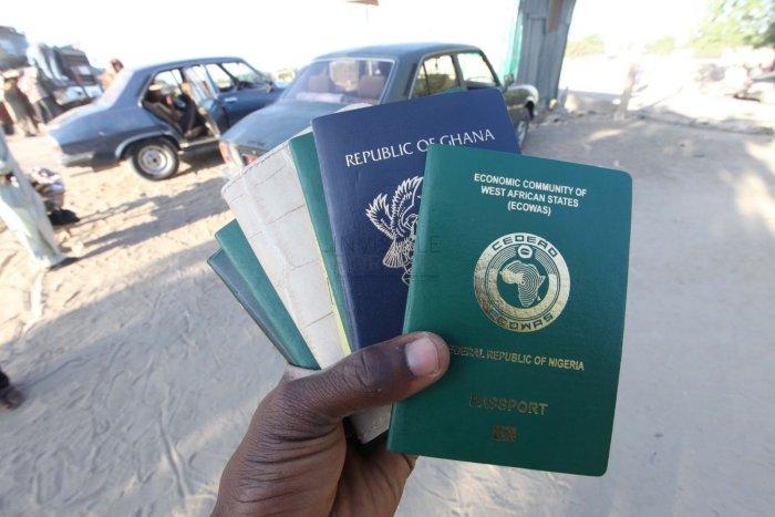 Nigerian Passport, Sweden