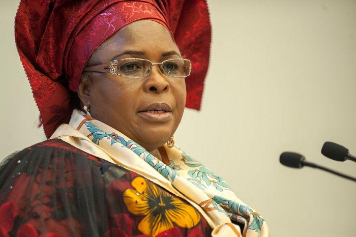 Nigeria's first lady, Dame Patience Jonathan