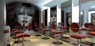 salon haircut