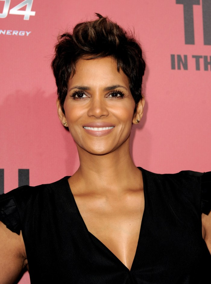LOS ANGELES, CA - MARCH 05: Actress Halle Berry arrives at the premiere of Tri Star Pictures' 'The Call' at the Arclight Theatre on March 5, 2013 in Los Angeles, California. (Photo Credit: Kevin Winter/Getty Images)