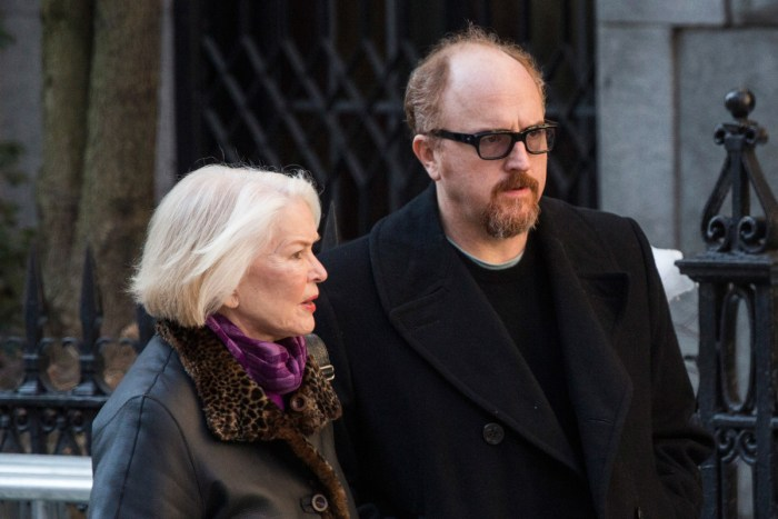 Ellen Burstyn & Louis C.K. (Photo Credit: Huffington Post)
