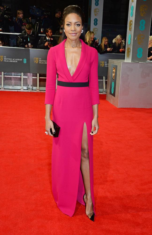 Naomie Harris in Gucci