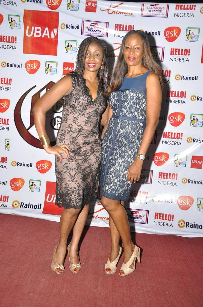 Cupid Concert 2014:  Njideka Jack & Nkem Akpabio at the concert which held at Lamibele Place, Asaba