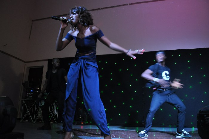 Cupid Concert 2014: The loving your way crooner Sheyi Shay  thrilling the audience at the concert held at Lamibele Place, Asaba over the weekend