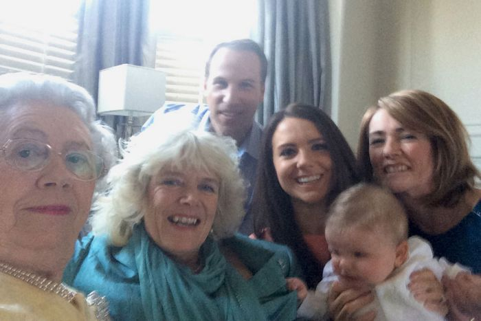 Another selfie of the royals