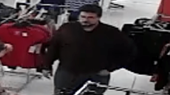 A Kentucky pastor has been accused of exposing himself to a teenage girl in a department store in Russellville earlier in February 2014. This is the CCTV shot of the pastor in the store