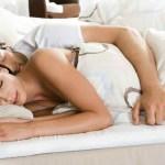 touch woman sleep facts sleeping