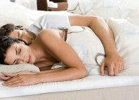 touch woman sleep facts sleeping