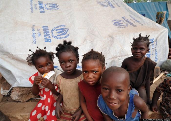 CENTRAFRICA-UNREST-REFUGEES