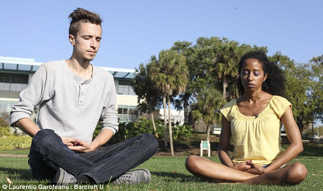 The couple must also abstain from sex until she gets her condition under control - something that meditation can help with (Photo Credit: Daily Mail)