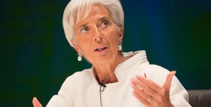 IMF Christine Lagarde