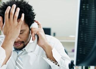 life stress business businessman worried man