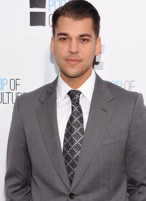 "Rob Kardashian of ""Keeping Up With The Kardashians"" attends E! 2012 Upfront at NYC Gotham Hall on April 30, 2012 in New York City.  (Photo Credit: Dimitrios Kambouris/E/NBCU Photo Bank via Getty Images for E!)"