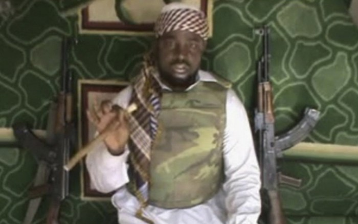 This file image made available from Wednesday, Jan. 10, 2012, taken from video posted by Boko Haram sympathizers shows the leader of the radical Islamist sect Imam Abubakar Shekau. (Photo Credit: AP Photo)
