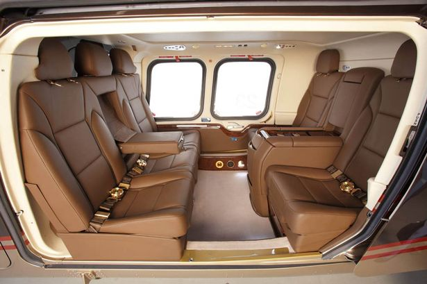 Plush: Inside the new helicopter