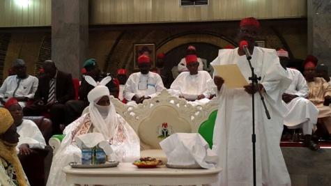 Sanisu Lamido Sanusi New Emir of Kano (Photo credits: Sahara Reporters)
