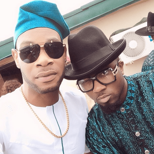 D Prince and Ice Prince at Dr Sid and Simi Osomo's  traditional marriage at the The Ark Event Center, Lekki, Lagos on Sunday, July 27, 2014 (Photo credits: Linda Ikeji)