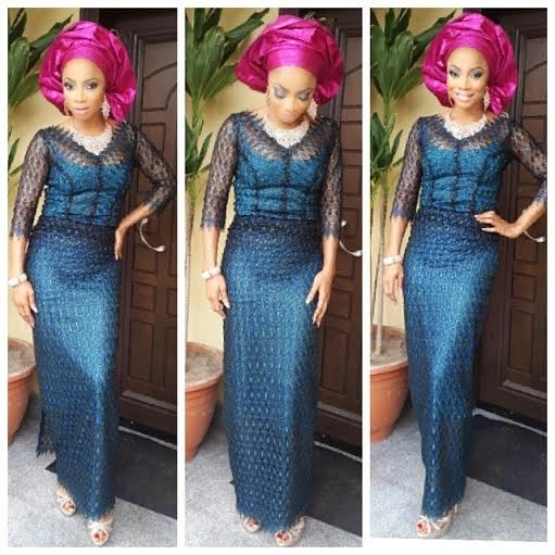 Guest at Dr Sid and Simi Osomo's traditional marriage at the The Ark Event Center, Lekki, Lagos on Sunday, July 27, 2014 (Photo credits: Linda Ikeji)