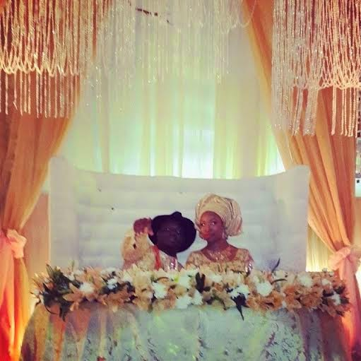 Dr Sid and Simi Osomo's traditional marriage at the The Ark Event Center, Lekki, Lagos on Sunday, July 27, 2014 (Photo credits: Linda Ikeji)