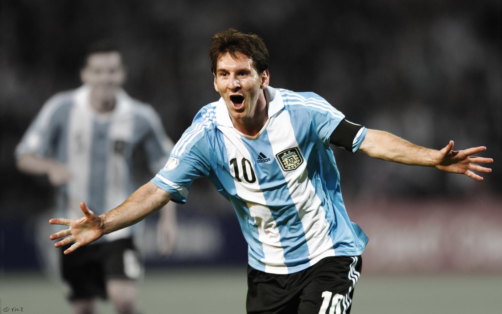 Lionel Messi Argentina World Cup Wallpaper